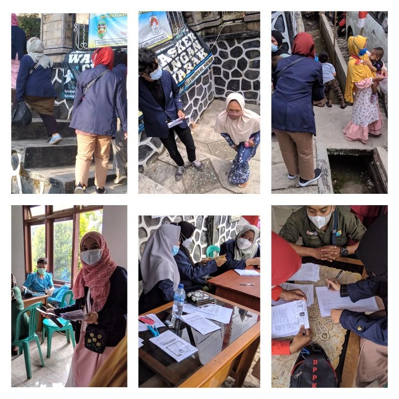 Vaksinasi Masal Covid-19 Desa Sukamulya